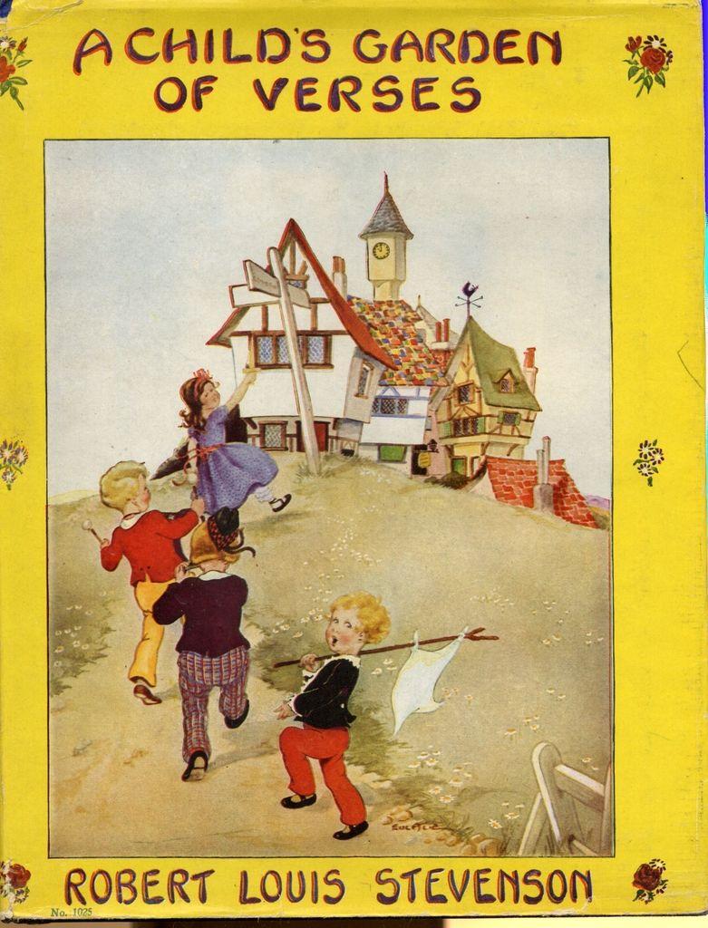 A Child 39 S Garden Of Verses By Stevenson Robert Louis Eulalie Illustrator 1929 01 01
