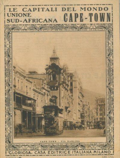 Cape town unione sud africana le capitali del mondo n for Piani di casa del merluzzo cape modificati