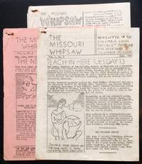 image of The Missouri Whipsaw [three issues]