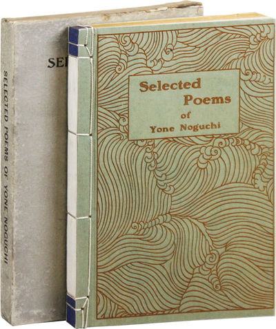 Boston: Four Seas Company, 1921. First Edition. Octavo (19cm.); publisher's green decorative side-st...