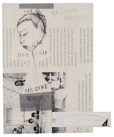 Zurich, Switzerland: Nieves, 2008. First edition. Softcover. 24 pages. Artist book /zine published i...