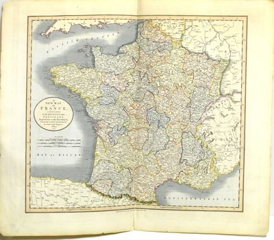 London: John Cary, 1819. Near Fine binding. Hand-colored map, 21.5 x 25.25