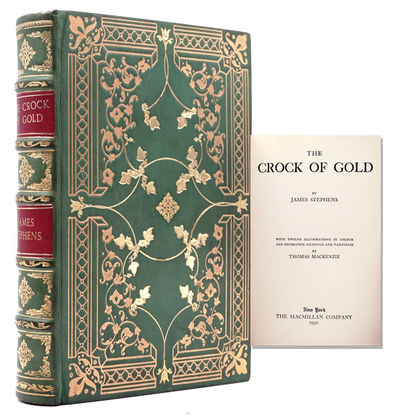 London: Macmillan, 1930. Later edition. With 12 illustrations in color, decorative headpieces and ta...