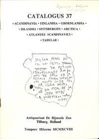 Catalogue 37/1998: Scandinavia / Finlandia / Groenlandia / Islandia /  Spitsbergen / Arctica / Atlantes Scandinavici / Tabulae