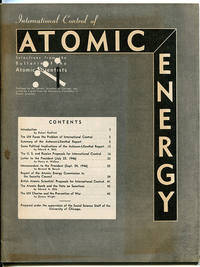 International Control of Atomic Energy: Selections from the Bulletin of the Atomic Scientists