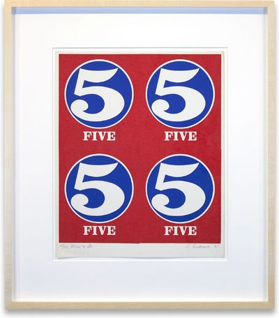 Np: Np, 1965. Fine condition, framed.. Screenprint, 11.75 x 9.5 inches. 18 x 16 inches framed. An ea...