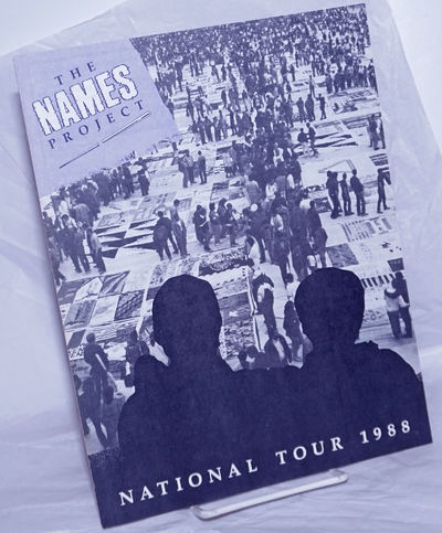 San Francisco: The NAMES Project, 1988. 18p., 8.5x11 inches, illustrations, photos, very good bookle...