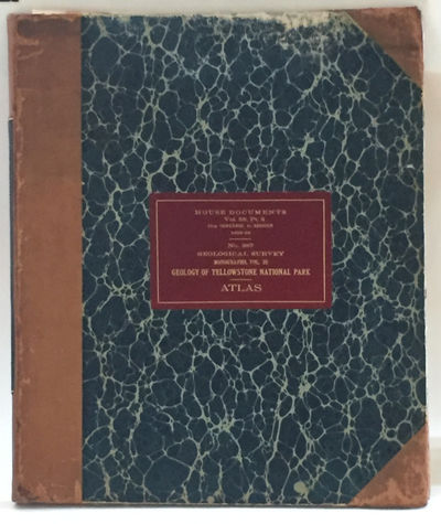 Washington DC: Government Printing Office, 1899. First Edition. Hardcover. Very good. Monograph: Qua...