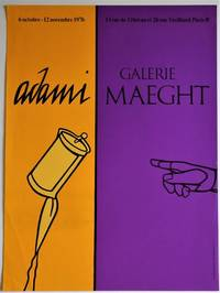 Adami - Galerie Maeght, 6 Octobre - 12 Novembre, 1976: Exhibition Poster