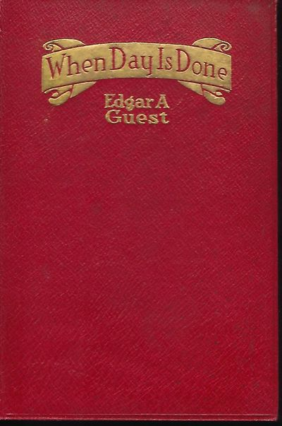Chicago: The Reilly & Lee Co., 1921. First Edition. This copy has a portrait frontispiece of Guest t...