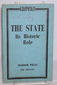 The state; its historic role