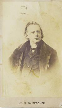Cabinet card of Rev. Henry Ward  Beecher
