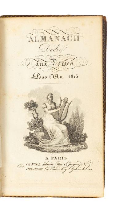 Almanach dédié aux dames