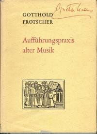Auffuhrungspraxis alter Musik
