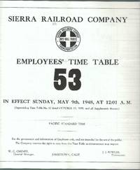 Employees' Time Table 53 in effect Sunday, May 9th, 1948, at 12.01 a.m.