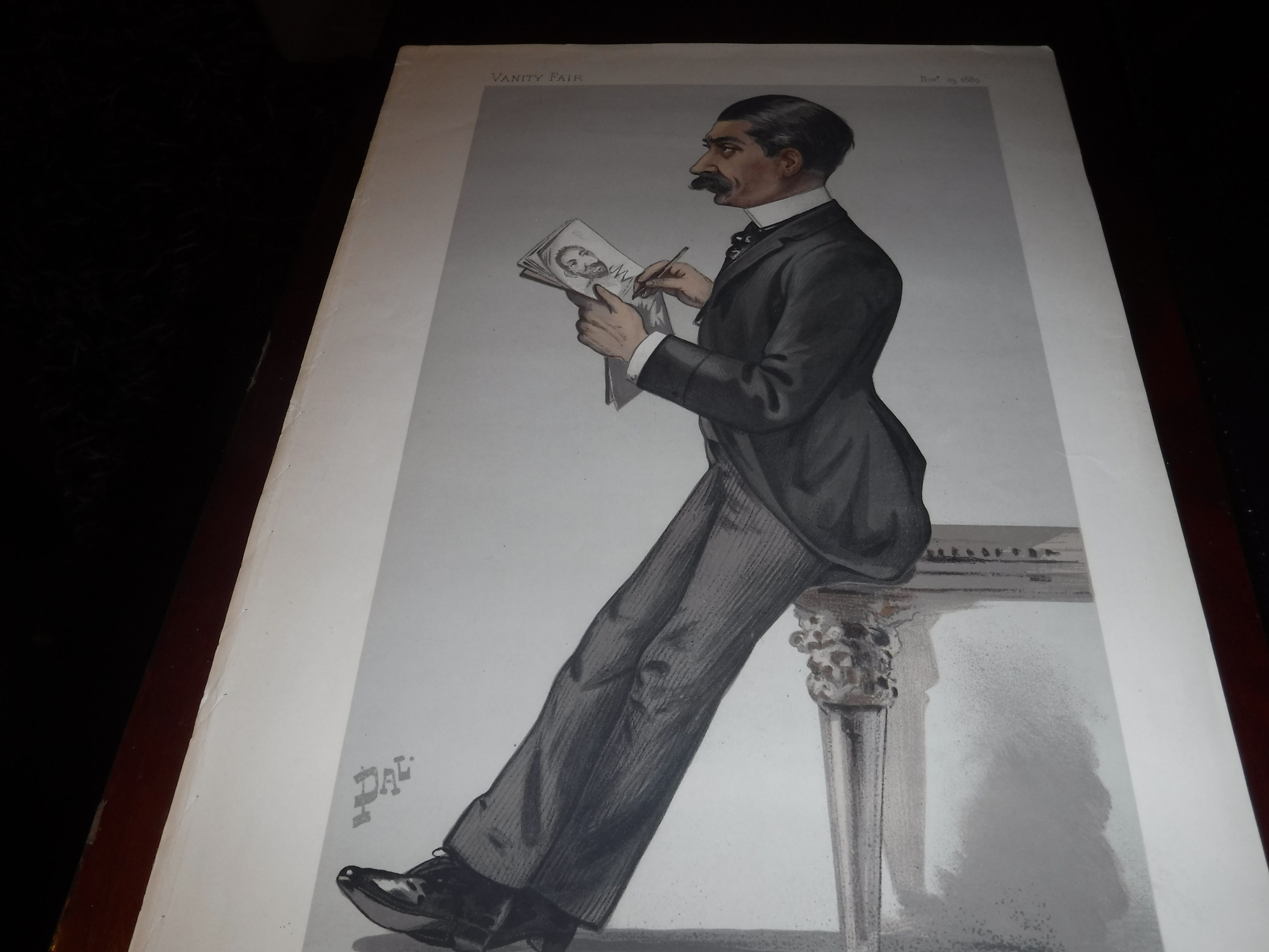 Spy By Vanity Fair Nov 23rd 1889