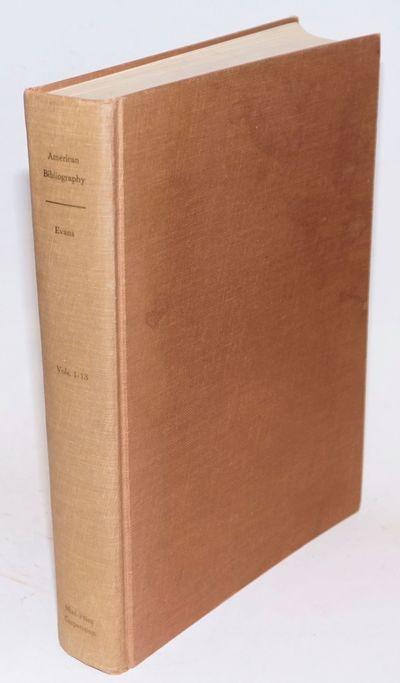 Metuchen NJ: Mini-Print Corporation, 1967. Hardcover. Unpaginated, the multi-volume corpus reproduce...