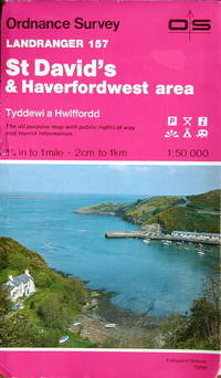 St. David's & Haverfordwest by Ordnance Survey - 1:50,000 sheet 157 - from Acanthophyllum Books and Biblio.com