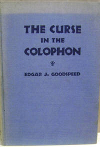 The Curse in the Colophon