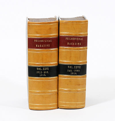 London: Taylor & Francis. 1st Edition. Hardcover. Very Good. FIRST EDITIONS of two critical papers i...