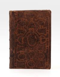 A rare and most unusual 18th-century binding of calf, the sides decorated with an ornate Grolieresque design, created by a stencil & acid treatment