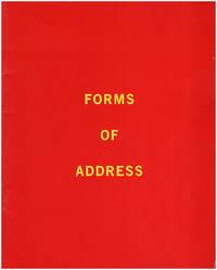 Forms of Address: Lynn Aldrich, Janet Biggs, Jean LaMarr, Julian Lang, Canan Tolon