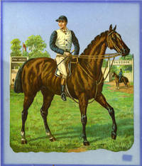 image of Large Victorian scrap of Donovan, Winner of the Derby, 1889.  Owner, the Duke of Portland