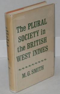 The plural society in the British West Indies