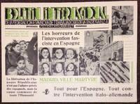 Boletin internacional de la Federacion Espanola de Trabadores de la Ensenanza, seccion Catalana, UGT, numéro 1;* Enero 1937 [poster]