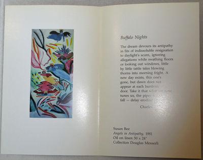 Buffalo: State university of New York, 1991. First edition. Paperback. Fine. Single folded sheet. Co...