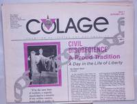 image of COLAGE: Champion Of Lesbian And Gay Equality; #7, September 1987: Civil Disobedience a Proud Tradition