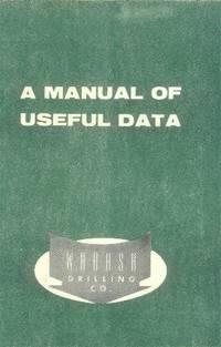 A Manual of Useful Data