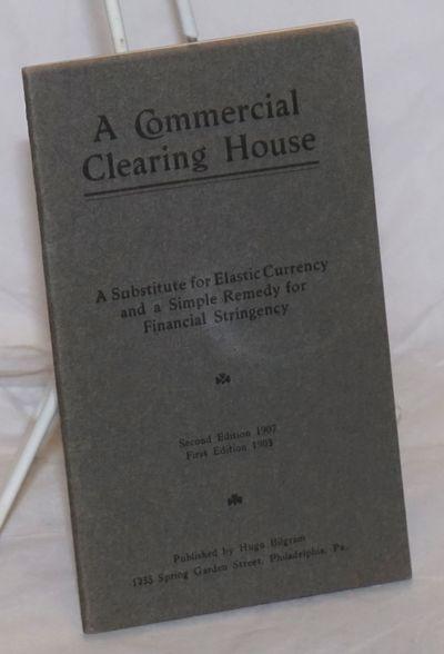 Philadelphia: Hugo Bilgram, 1907. Pamphlet. 27p., stapled wraps, 3.5x6 inches, very good second edit...