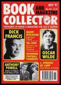 BOOK AND MAGAZINE COLLECTOR - Number 164 - November 1997