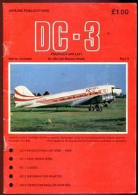 DC-3. Production List.