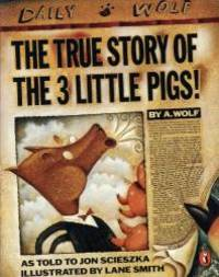 image of The True Story of the Three Little Pigs (Picture Puffin)