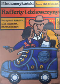 image of Rafferty i dziewczyny [Rafferty and the Gold Dust Twins] (Original Polish poster for the 1975 film)