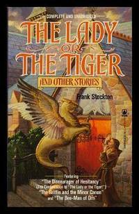image of THE LADY OR THE TIGER - and Other Stories