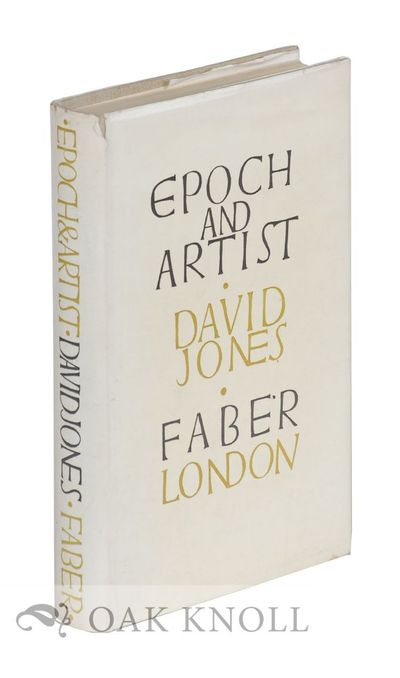 London: Faber and Faber, 1959. cloth, dust jacket. 8vo. cloth, dust jacket. 320 pages. First edition...