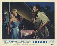 Safari (Collection of 8 photographs from the 1956 film)