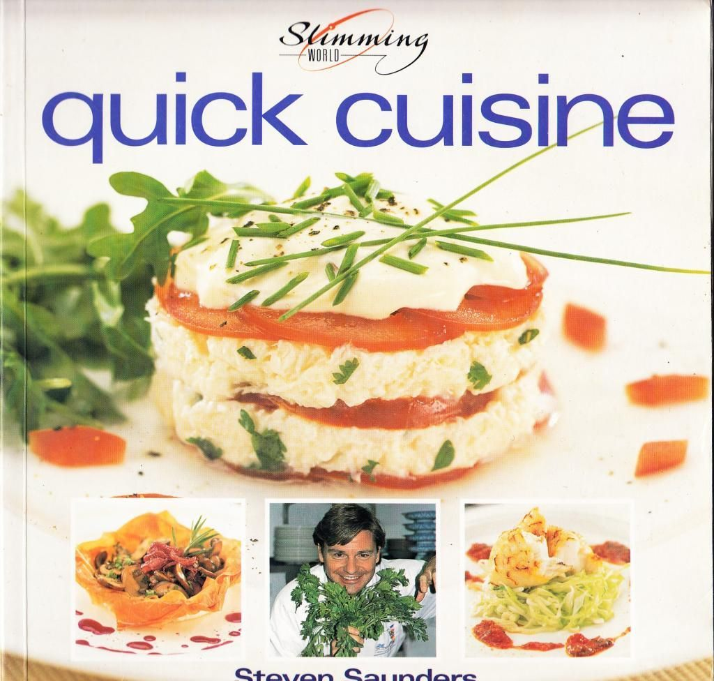 Slimming World Quick Cuisine By Steven Saunders