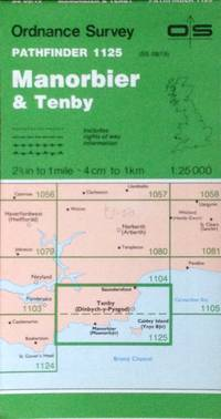 Manorbier & Tenby Pathfinder map sheet 1125