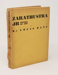 Zarathustra Jr Speaks of Art [INSCRIBED ASSOCIATION COPY]