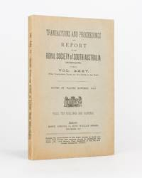 Preliminary Report on the Discovery of Native Remains at Swanport, River Murray; with an Inquiry into the Alleged Occurrence of a Pandemic among the Australian Aboriginals. [Contained in] Transactions and Proceedings of the Royal Society of South Australia, Volume 35, 1911