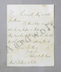 Robert Dale Owen Signed Letter