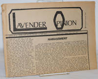 image of Lavender Opinion: vol. 1, #5, June 1974: Harassment