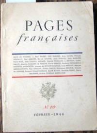 image of Pages françaises.