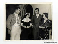 ORIGINAL PHOTOGRAPH; GARY COOPER, JACK DEMPSEY & THEIR WIVES AT CAFE TROCADERO