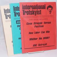 image of International Trotskyist: Journal of the Revolutionary Trotskyist Tendency [3 issues]