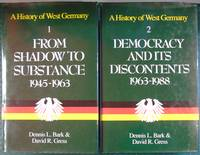 A History of West Germany - Volumes 1 & 2